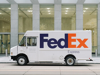 fedex, deliver your product by road