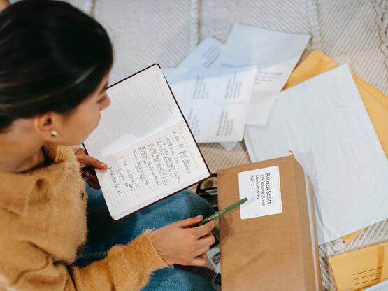 provide detail information while sending parcel internationally