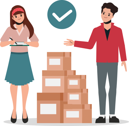 online parcel management: from buying to delivery of the product