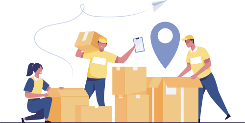 sending your parcel from warehouse to your destination